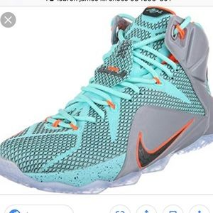 Lebron James XII 12 Turquoise/Grey